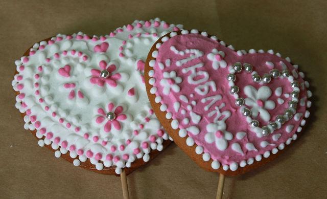 Печенье к Дню Всех Влюбленных