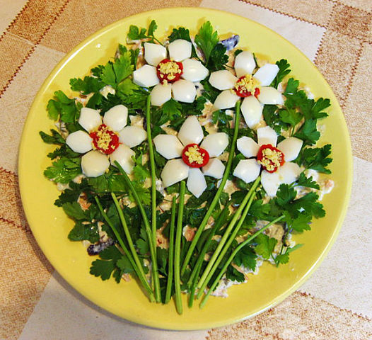 Салат «Нарцисс»