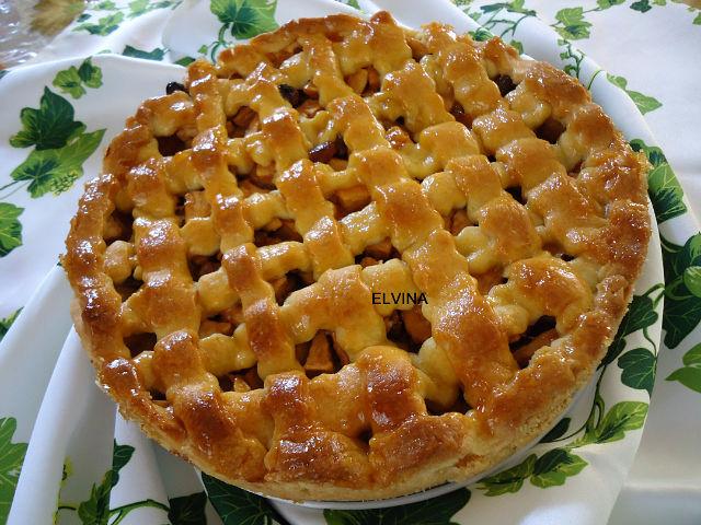 Яблочный пирог рецепт с фото