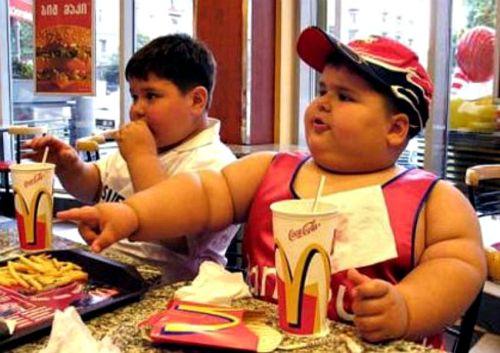 Ожирение детей употребляющие еду быстрого приготовления