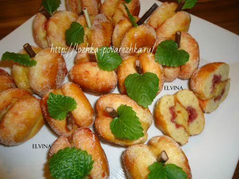 Итальянские булочки-персики