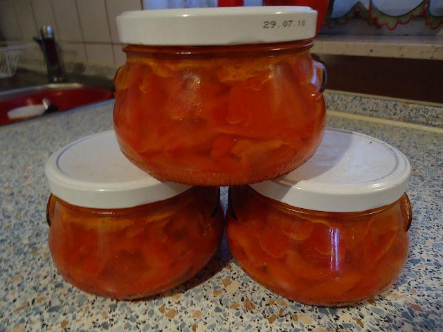 Салат из болгарского перца на зиму
