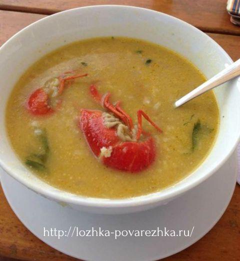 Суп с раками по перуански