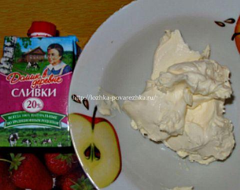 Сливки и сметана для приготовления сливочного соуса