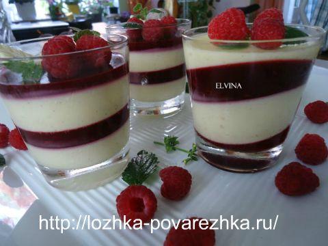 Рецепт десерта панакота