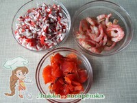 салат стрелы амура нарезка продуктов