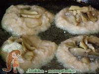 Жарка драников с грибами