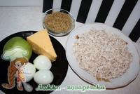 Ингредиенты для салата черепашка