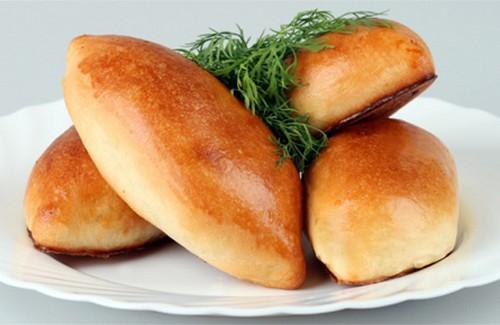 Пирожки печеные с мясом