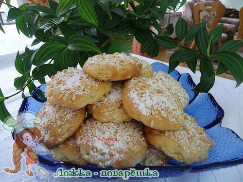 Печенье с яблоками фото