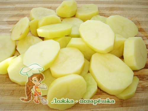 Картофель для салата