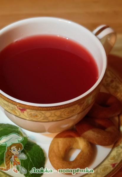 Гранатовый чай
