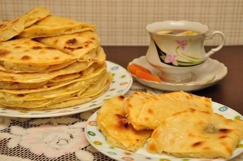 Татарские лепешки с картошкой