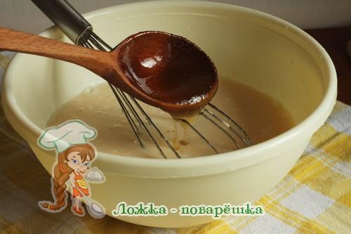 Тесто с медом