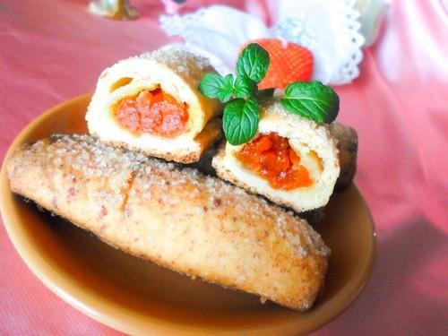 Печенье из творога с начинкой