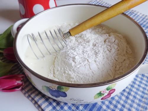 Тесто для сладких блинов