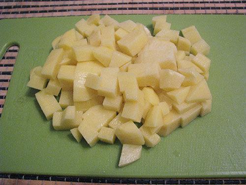 Картофель для машевого супа