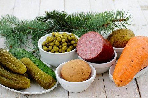 Оливье рецепт классический с колбасой