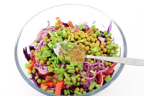 Диетический салат к Новому году