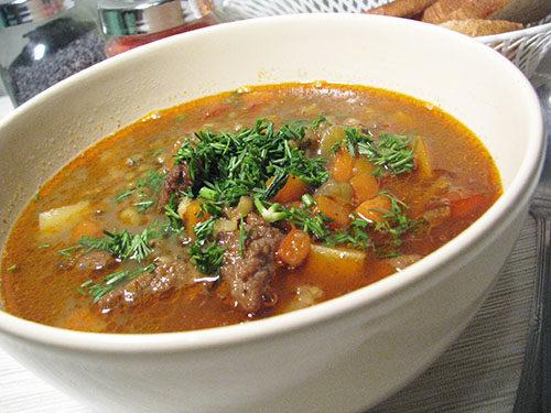 Суп с машем итоговое фото
