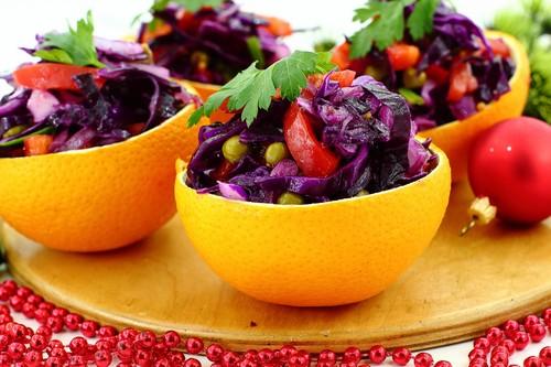 Диетический салат на Новый год
