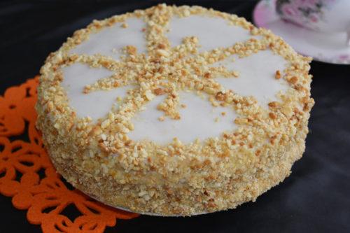Торт медовик пошаговый рецепт с фото