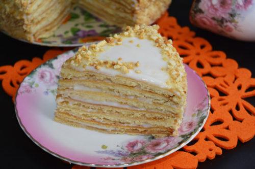 Торт медовик итоговое фото