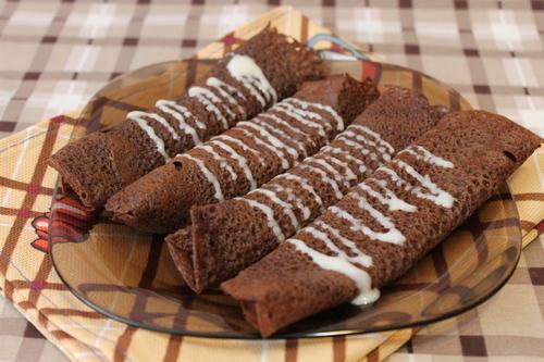 Шоколадные блинчики