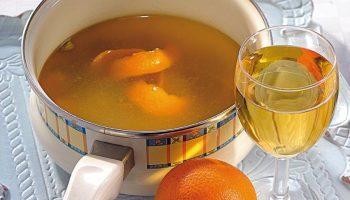 Где готовят бульон для супа на алкоголе