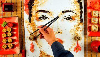 Художник, рисующий невероятно реалистичные пейзажи из еды