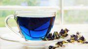 Чем удивителен синий тайский чай