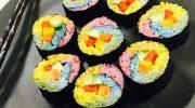 Из чего готовят радужные суши и как их можно есть