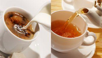 Почему в чае больше кофеина, чем в кофе