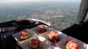 В каком ресторане можно отведать пищу, паря в воздухе