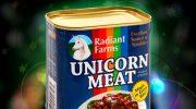 Кто продает консервы из мяса единорогов и что это такое на самом деле