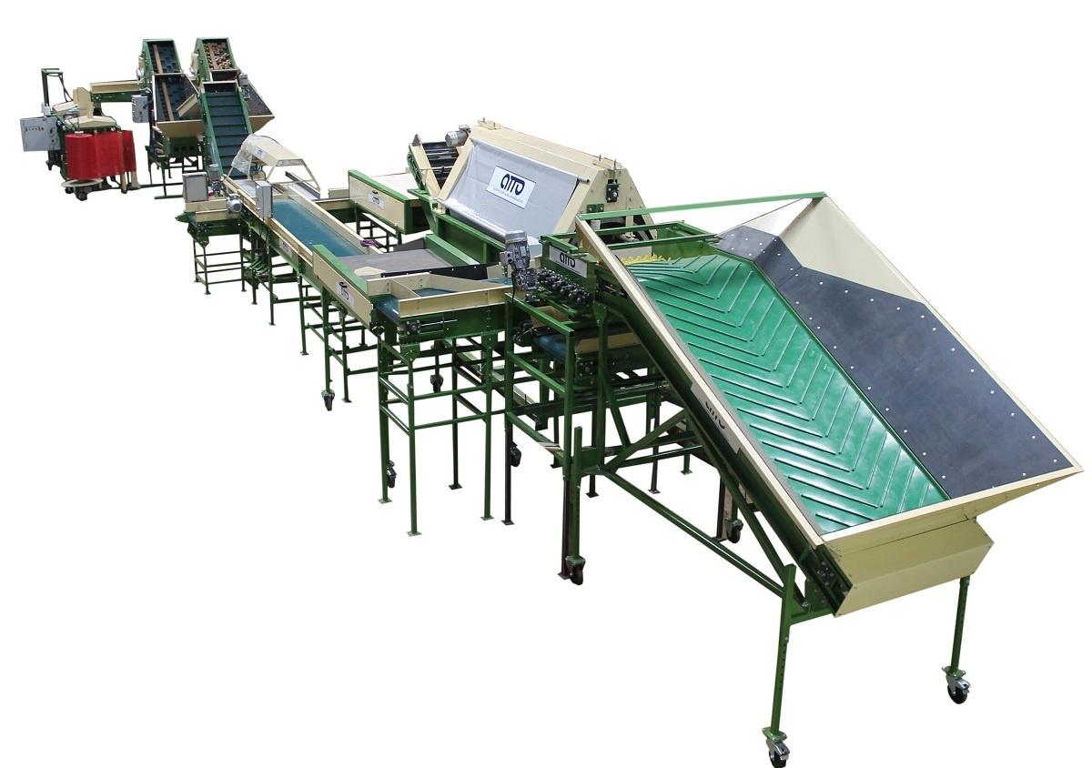 Оборудование для обработки и фасовки овощей, фруктов