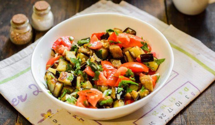 Интересный салат «Лаззат»